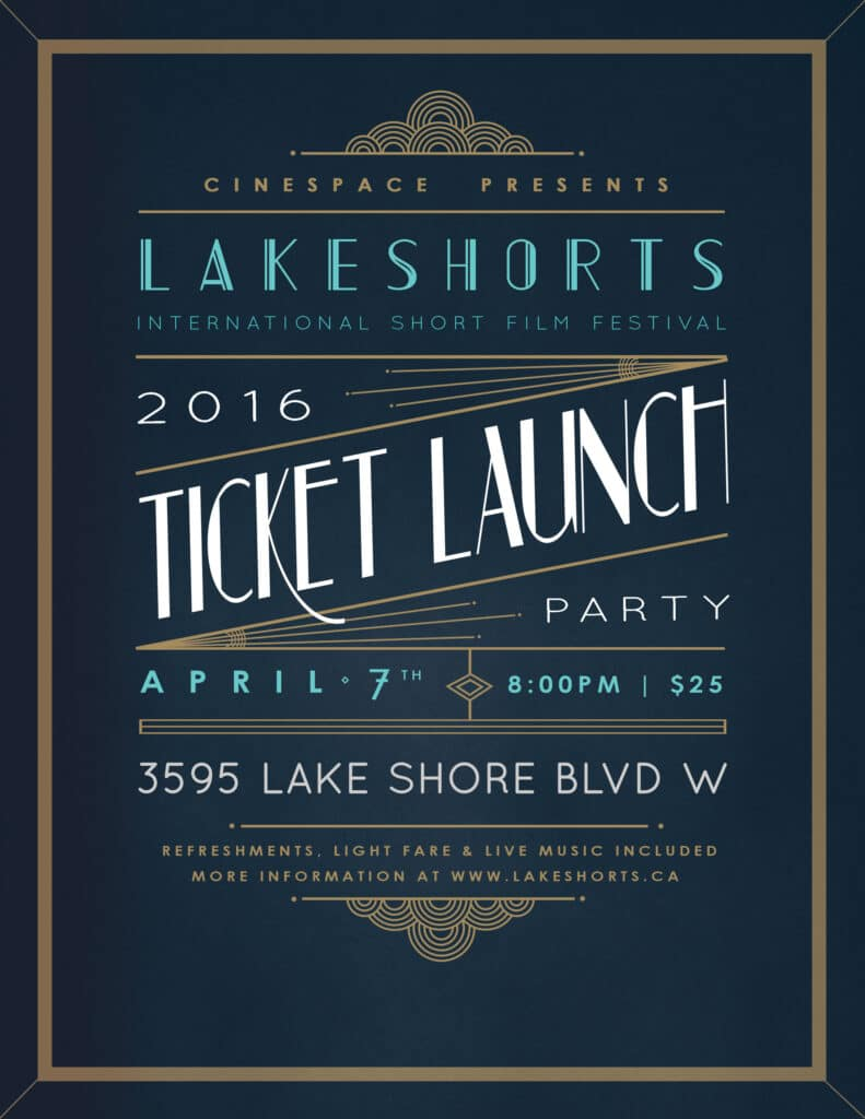 Lakeshorts Ticket Launch Party
