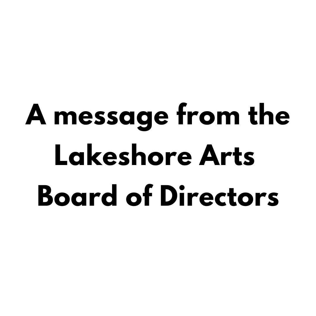 A Message from the Board of Directors