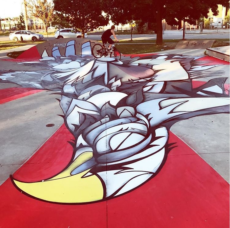 New Murals Coming to the Eighth Street Skatepark