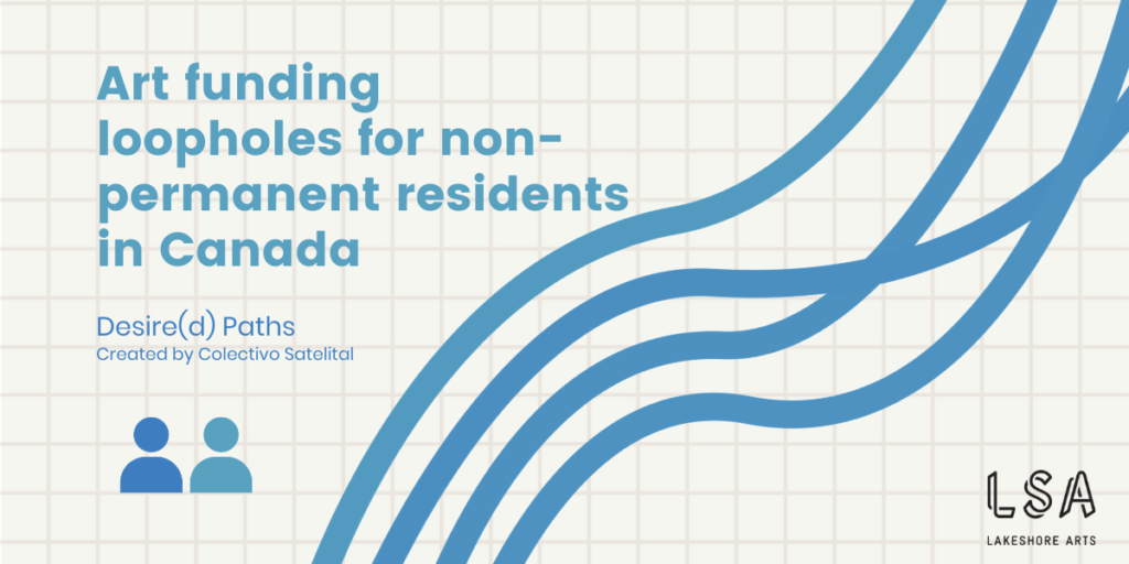Art funding loopholes for non-permanent residents in Canada